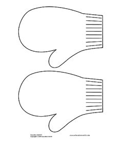 mitten template | Click here: mitten_template-download.doc to download the document.