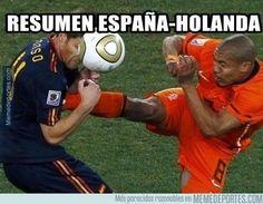 Resumen España Holanda
