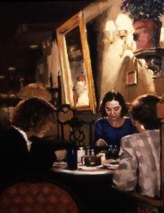Mona Lisa Cafe   by Pauline Roche