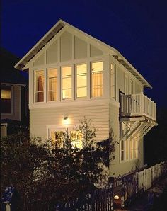 Bailey Cottage in Seaside, Florida by architect Eric Watson