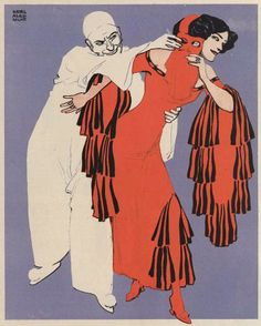 """Karl Alexander Wilke, 1912 for """"Die Muskete"""""""