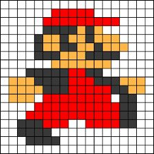 Image result for super mario perler bead pattern