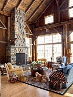 move fireplace to one end, sleeping loft over Master, kitchen, and bath.