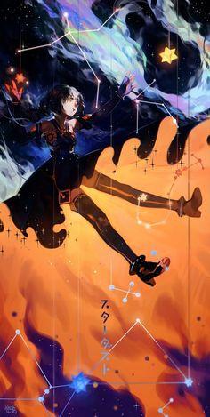 Imagem de vocaloid, anime girl, and stardust