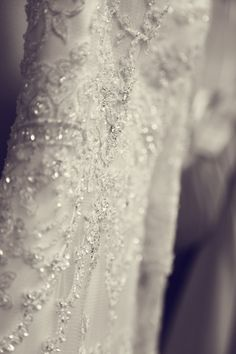 Wedding Picture I like how it gets the detail of the dress but is still artsy!