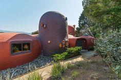 Famous Hillsborough CA Flintstone House for sale - curbed sf