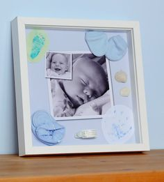 Live Snap Love: Photo Craft: Baby Keepsake Shadow Box
