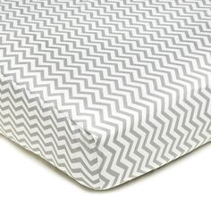 American Baby CompanyPercale Fitted Crib Sheet, Zigzag Grey - http://shop.thebabystop.net/?product=american-baby-companypercale-fitted-crib-sheet-zigzag-grey