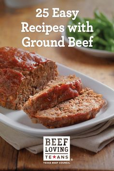 Looking for simple weeknight meal ideas? We've got 25 easy recipes with ground beef that the entire family can enjoy.