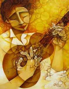 Musical paintings by Paul N Grech | - PInterest