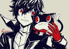 P5 | Persona 5 | Akira Kurusu & Morgana