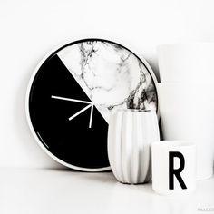 DIY clock backgrounds