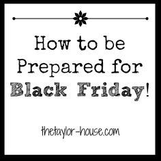 How to Prepare for Black Friday Deals