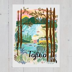 The amazing surf town Tofino on Vancouver Island in BC. Sleepy, stormy and home to the most amazing beaches. #tofino #surftown #surfsup #tofinobc #vwvan Mother In Law Birthday, Mother Art, Desert Art, Mountain Art, Digital Wall, Beach Fun, First Nations, Nature Scenes