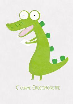 #crocomonstre #illustration