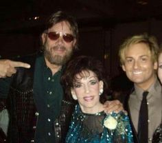 Bocephus with Dottie Rambo and Larry W Ferguson a long time manager of Dottie.. At the Nashville Songwriters Hall of Fame in 2007 when Bocephus and Dottie were inducted