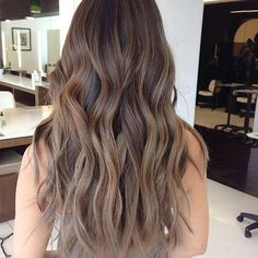 Balayage-Brown-Hair-With-Blonde 34 Amazing Looks for Brown Balayage Hair Is for . Balayage-Brown-H Ashy Brown Hair Balayage, Ash Blonde Hair Dye, Brown Ombre Hair, Brown Hair With Highlights, Hair Color Balayage, Light Brown Hair, Brown Hair Colors, Blonde Highlights, Ombre Hair Color
