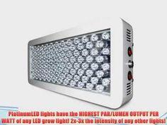 Advanced Platinum Series P300 300w LED Grow Light Review
