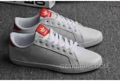7ad86d61ce1 Soldes Une Ventilation Maximale Femme Adidas Stan Smith Blanche Rouge  Chaussures En France Lastest FMb7A
