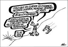 Viñeta: Forges - 2015-05-10 | Opinión | EL PAÍS H Comic, Humor Grafico, Mayo, Grande, Peace, Founding Fathers, Thanks, Caricatures, Sobriety