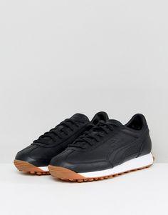 Puma Select Easy Rider Premium Sneakers In Black 36463202 Black Puma 2495d58d8