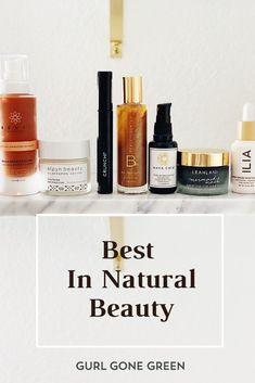 Best Of Natural Beauty March : Gurl Gone Green Natural Beauty Tips, Clean Beauty, Organic Beauty, Natural Skin Care, Green Beauty Routine, Beauty Routine Planner, Skincare Routine, Natural Mascara, Natural Moisturizer