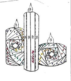 Iris Folding Templates Inspirations - Aga Piechocińska - Picasa Web Albums candles: