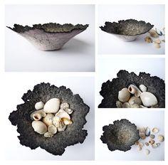 Sally Bowman, paper pulp bowls