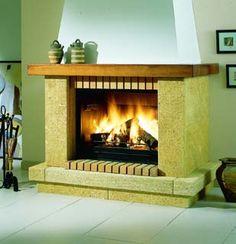 chimeneas de ladrillo - Buscar con Google Barbacoa, Google, Home Decor, Fireplace Set, Brick Fireplaces, Wood Stoves, Barbecue, Decoration Home, Room Decor