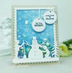 Today I am offering some items from Frantic Stamper. Email all pre orders to darlen. Tiny Mushroom, Mushroom House, Reindeer Face, Tiny Tags, Pine Garland, Frantic Stamper, Card Making Supplies, Tis The Season, Snowflakes