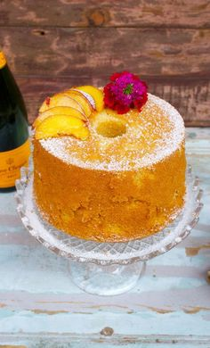 Food Cakes, Bakery Cakes, Sweet Recipes, Cake Recipes, Dessert Recipes, Almond Paste Cookies, Types Of Sponge Cake, Bolo Chiffon, Lily Cake