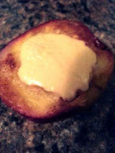 "cheesecake-stuffed peaches! 4.33 stars, 6 reviews. ""Super Yummy!"" @allthecooks #recipe"