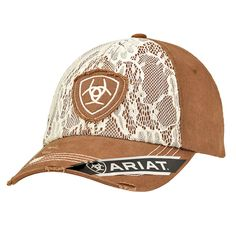 26e06296557 Unstructured Cap. Ariat ClothingCaps For WomenGifts ...