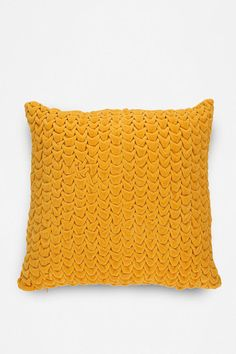 Quilted Velvet Pillow  #UrbanOutfitters