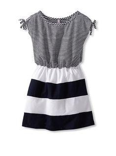 Ginkana Girl's Dress (Marino)