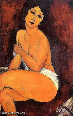 reproduction modigliani painting seated canvas amedeo nude oil on by Seated Nude Oil Painting Reproduction on Canvas By Amedeo ModiglianiSeated Nude Oil Painting Reproduction on Canvas By Amedeo Modigliani Amedeo Modigliani, Modigliani Paintings, Animal Art Projects, Paintings Famous, Modern Canvas Art, Oil Painting Reproductions, Art Gallery, Artwork, Pregnancy Care