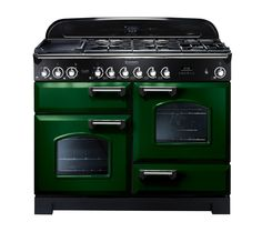 rangemaster classic deluxe dual fuel RACING GREEN/CHROME