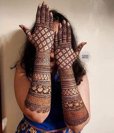 Mehndi Designs Bridal Hands, Wedding Henna Designs, Engagement Mehndi Designs, Back Hand Mehndi Designs, Mehandi Designs Latest, Stylish Mehndi Designs, Rajasthani Mehndi Designs, Dulhan Mehndi Designs, Khafif Mehndi Design