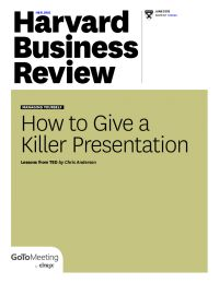 """Insights from TED Talks. """"How to Give a Killer Presentation"""""""