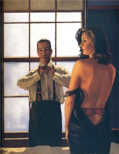 Jack Vettriano Paintings & Artwork Gallery in Chronological Order