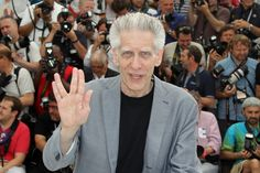 David Cronenberg - you've got to love a man who does a vulcan salute