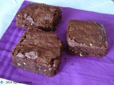 Karine Cuisine: Le brownie aux noix de cajou et cacahuètes