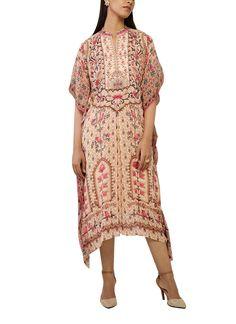 Indian Fashion Designers - Anita Dongre - Contemporary Indian Designer - The Ambrosina Kaftan - AD-SS17-PH-1-SS17MB041