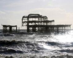 Old West Pier, Brighton