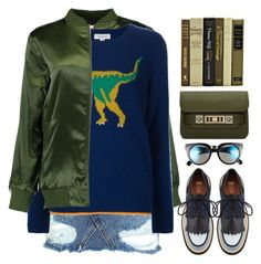 """""""Dinosaur"""" by bmaroso ❤ liked on Polyvore featuring Topshop, Boohoo, Coach, BP. and Proenza Schouler"""