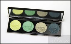 MAC The Simpsons That Trillion Dollar Look Eyeshadow Quad Review, Photos, Swatches