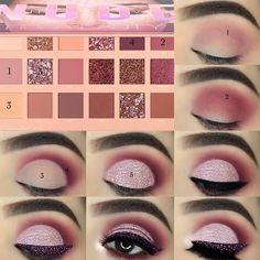 Eyeshadow Tutorials For Perfect Makeup – So Easy Even Beginners Can Learn eye makeup tutorial; eye makeup for brown eyes; eye makeup for brown eyes; Makeup Eye Looks, Eye Makeup Steps, Beautiful Eye Makeup, Simple Eye Makeup, Natural Eye Makeup, Cute Makeup, Perfect Makeup, Smokey Eye Makeup, Prom Makeup