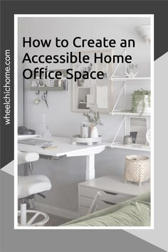 If you're working from home and need to create a home office space that's wheelchair accessible then there's lots of inspiration and ideas on my blog! Interior Styling, Interior Design, Home Office Space, Spare Room, Bedroom Storage, Dining Table, Create, Blog, Inspiration