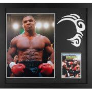 #All Star Signings Mike Tyson Signed and Framed 16 x 20 Photograph #Throughout his career, Tyson became well known for his ferocious and intimidating boxing style as well as his controversial behavior both inside and outside the ring. Tyson is considered to have been one of the best heavyweight boxers of all time.He is a former undisputed heavyweight champion of the world and holds the record as the youngest boxer to win the WBC, WBA and IBF world heavyweight titles, he was 20 years, 4…