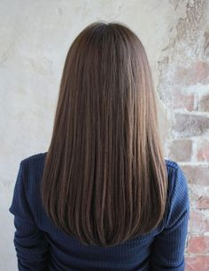 hair lengths for face shape . hair lengths for face shape round . hair lengths for face shape oval . Haircuts Straight Hair, Medium Length Hair Straight, Long Hairstyles Cuts, Hair Cuts For Long Hair Straight, V Cut Hair, One Length Hair, Natural Straight Hair, Long Haircuts, Simple Hairstyles
